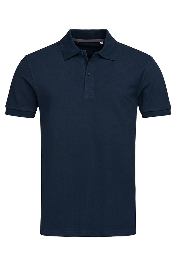 True Pique Polo Shirt - Marina Blue