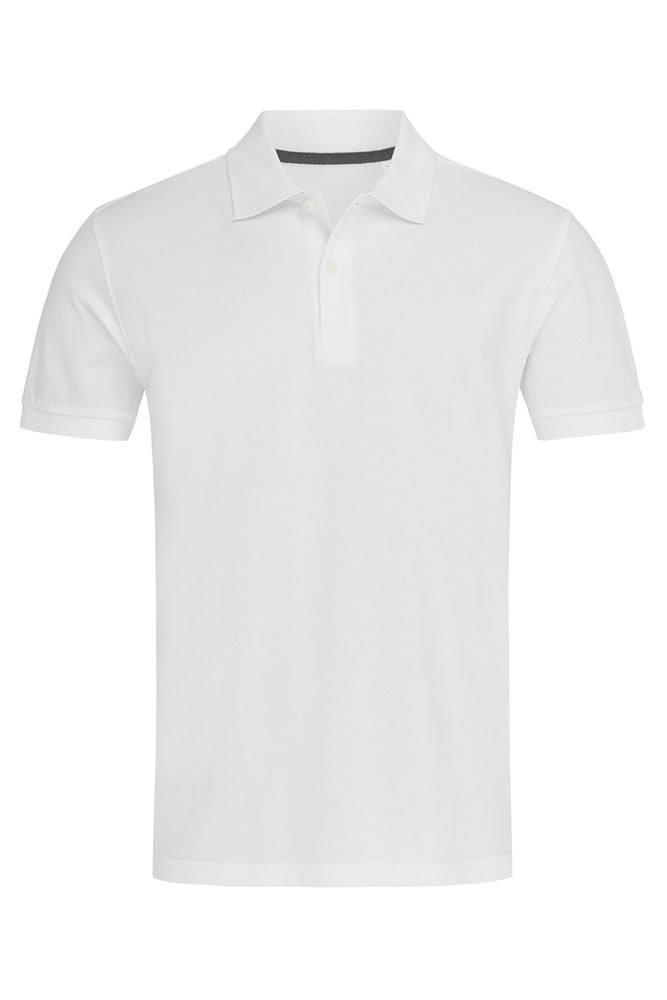 True Pique Polo Shirt - White