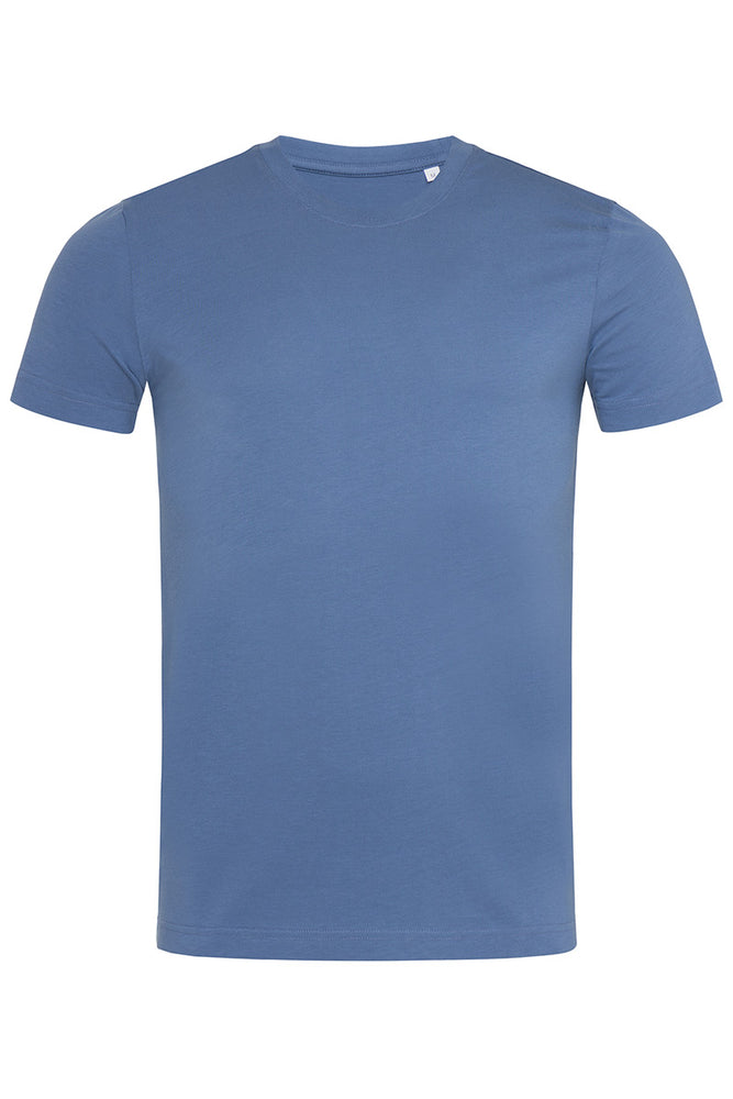 Organic Cotton Eco Friendly T-shirt - Denim Blue