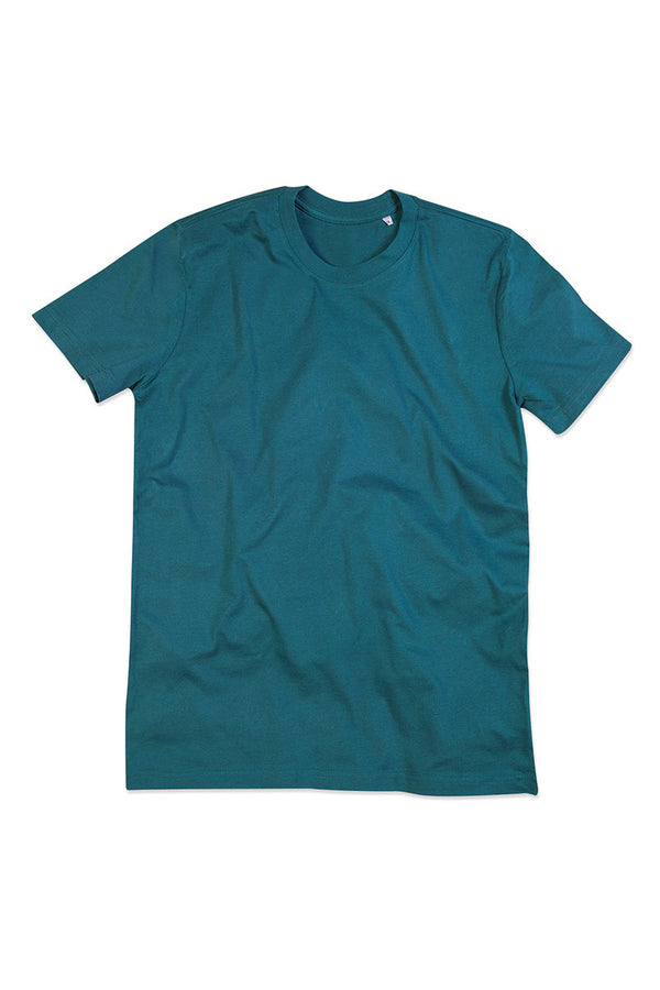Organic Cotton Eco Friendly T-shirt - Pacific Blue