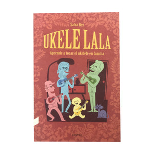 "Book ""Ukelelala - Learn to play the ukulele as a family"" - Kunde Brand"