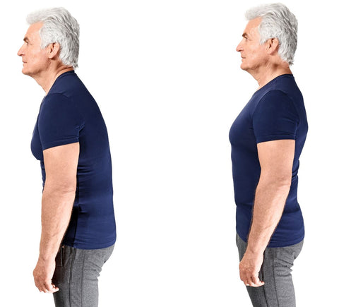Before and After Posture Corrector Results