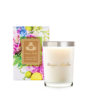 Monique Lhuillier Citrus Lily Scented Candle