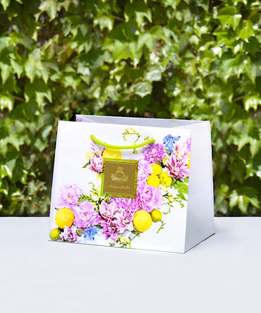 Monique Lhuillier Citrus Lily Gift Bag