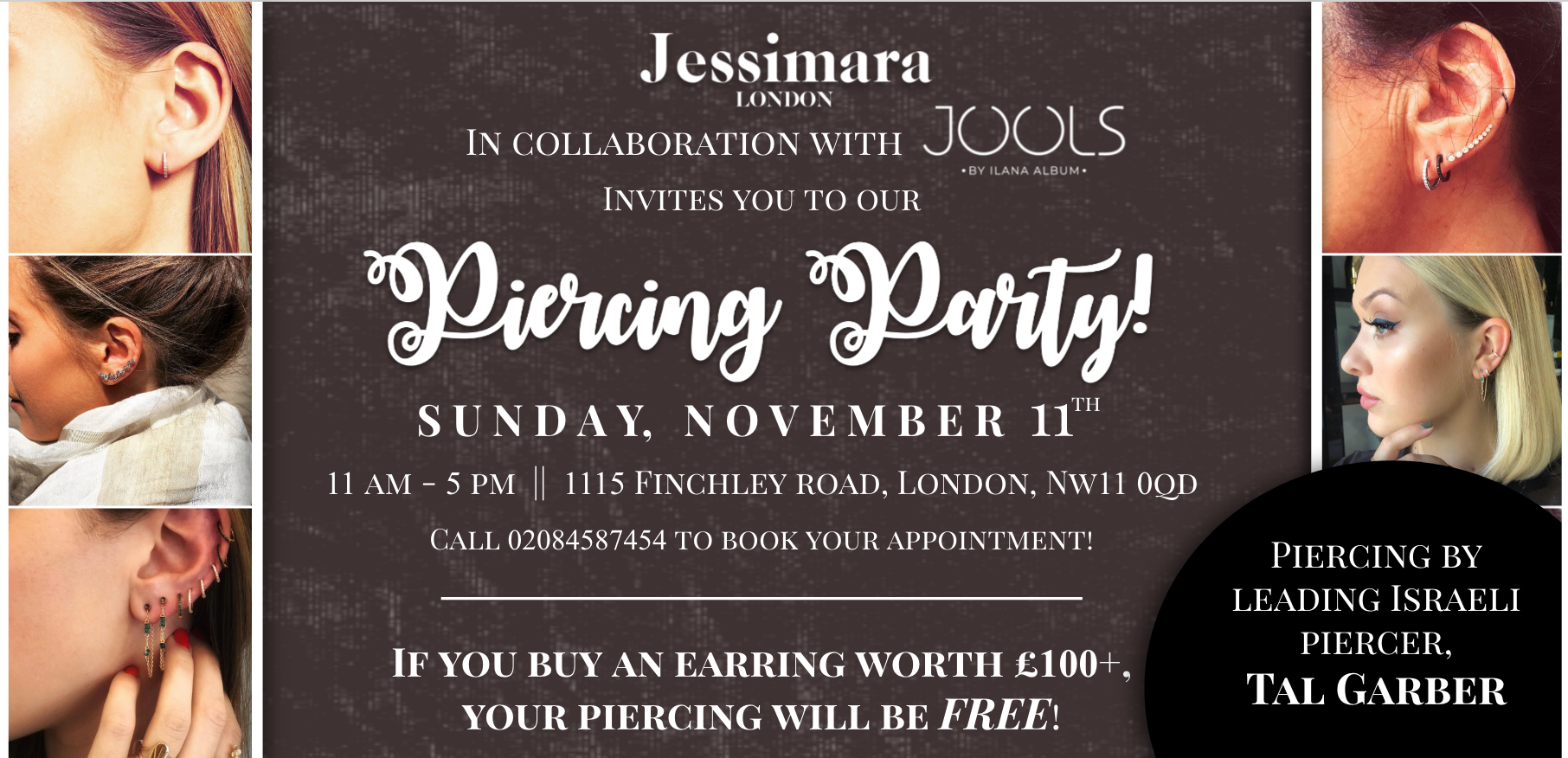 We're Throwing A Piercing Party!!
