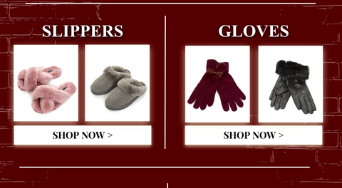 Slippers and Gloves