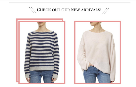 New Arrivals From 360 Cashmere
