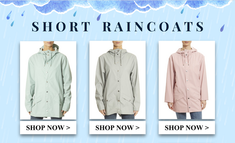 Shop short raincoats