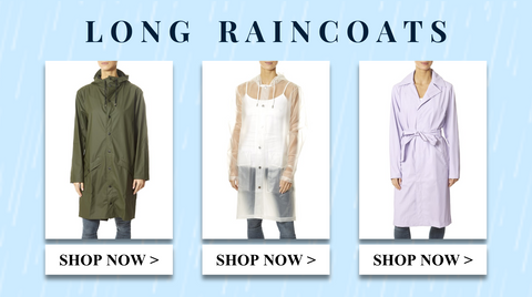 Shop long raincoats