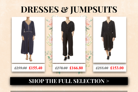 dresses and jumpsuits