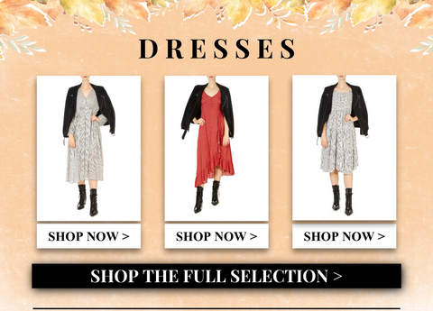 shop autumn dresses