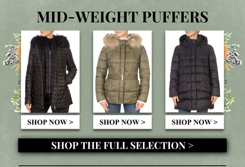 midweight puffers
