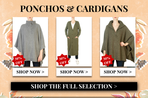 shop ponchos