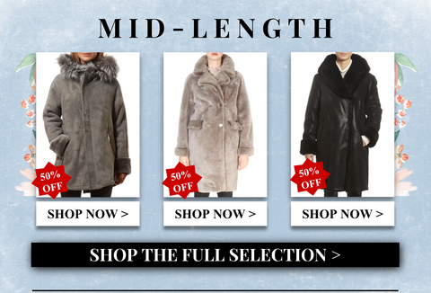 shop sheepskin coats