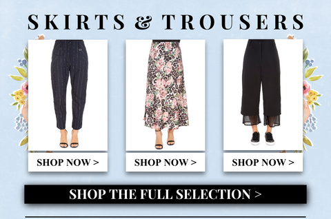 shop skirts and trousers