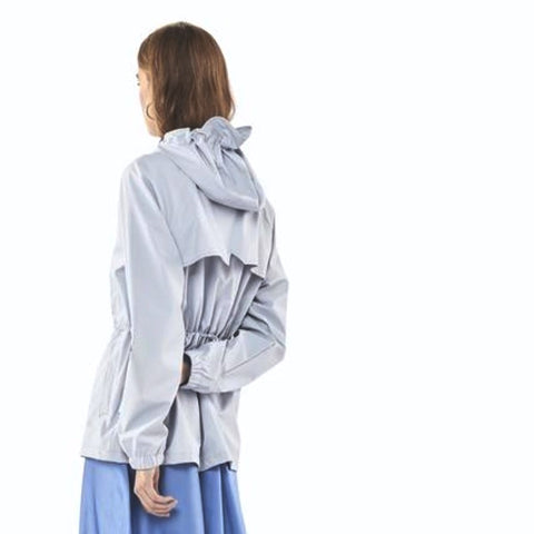 rains grey rain jacket