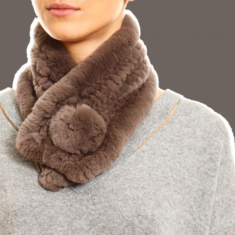 Fur5Eight Bobble Scarf
