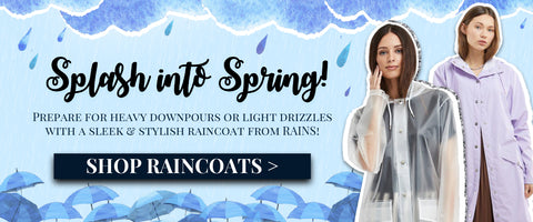 Shop RAINS coats