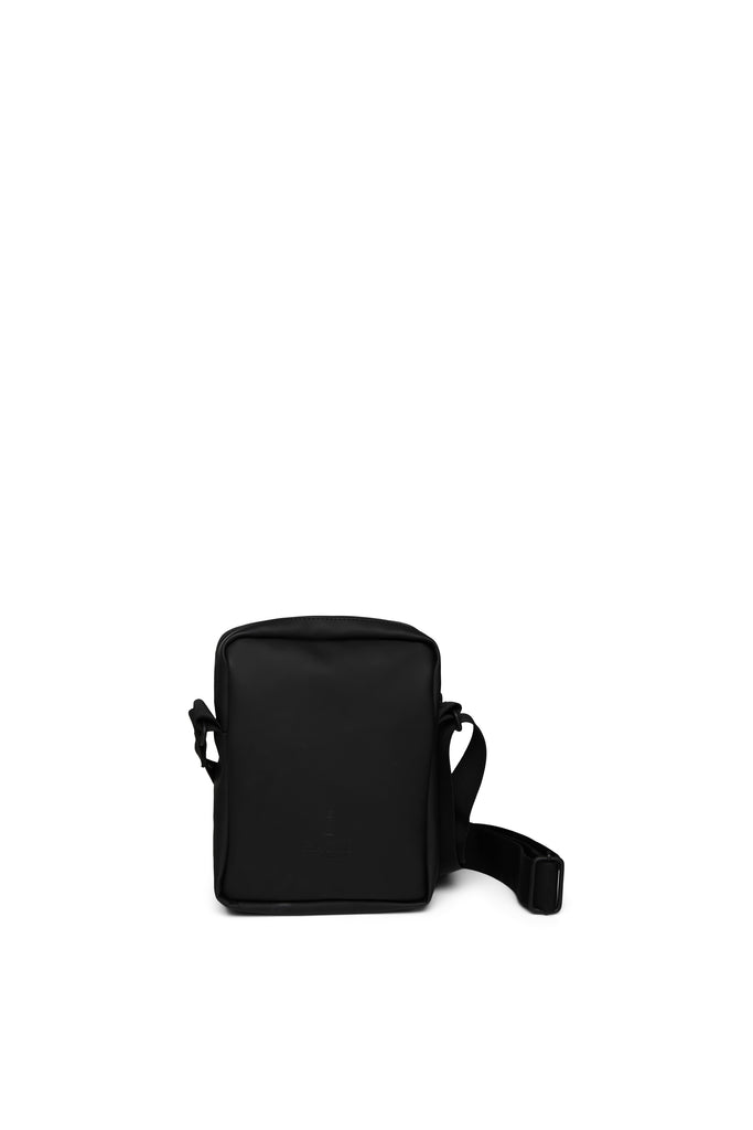 'Jet' Black Small Cross Body Bag Rains
