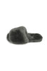 Dark Grey Sheepskin Deep Slippers Sliders