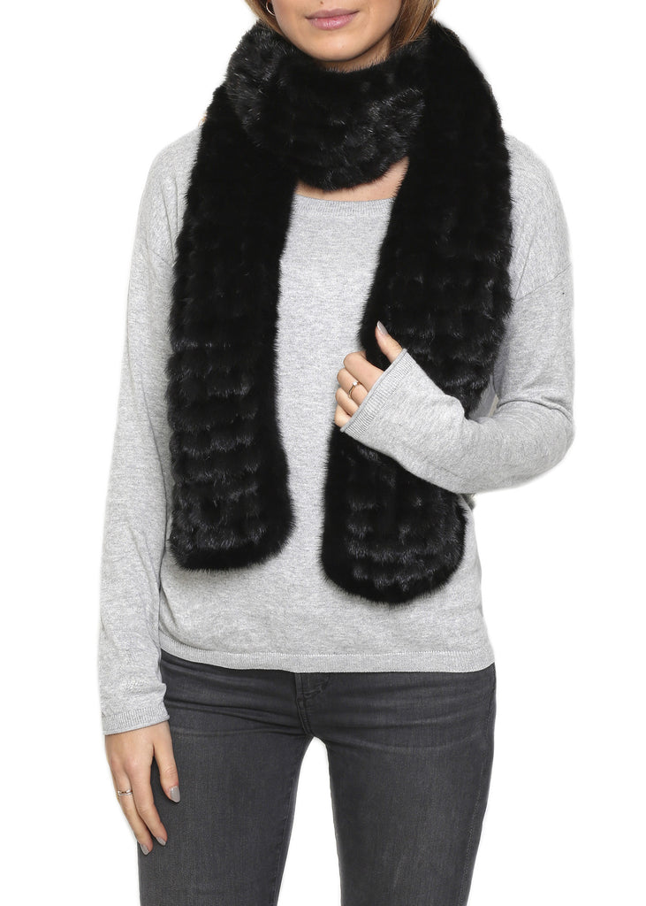 Mink Bobble Designer Fur Scarf Fur5eight - Jessimara