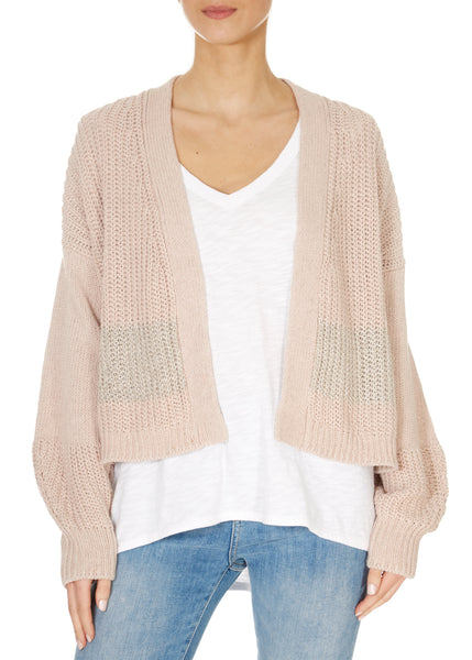 'Tulsa' Open Front Cardigan | Jessimara London