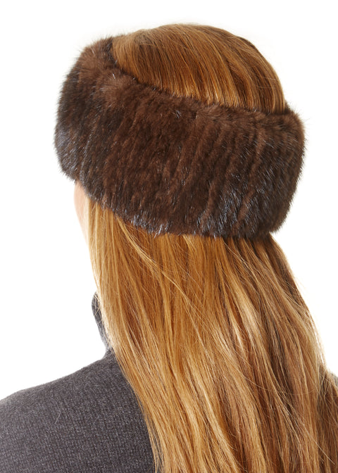 Brown Mink Headband | Jessimara London