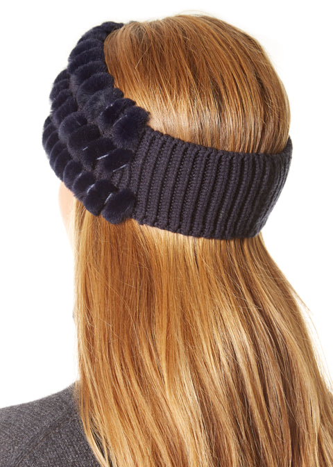 Navy Rabbit Headband | Jessimara London