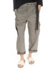 'Niki' Grey Wide Leg Trousers