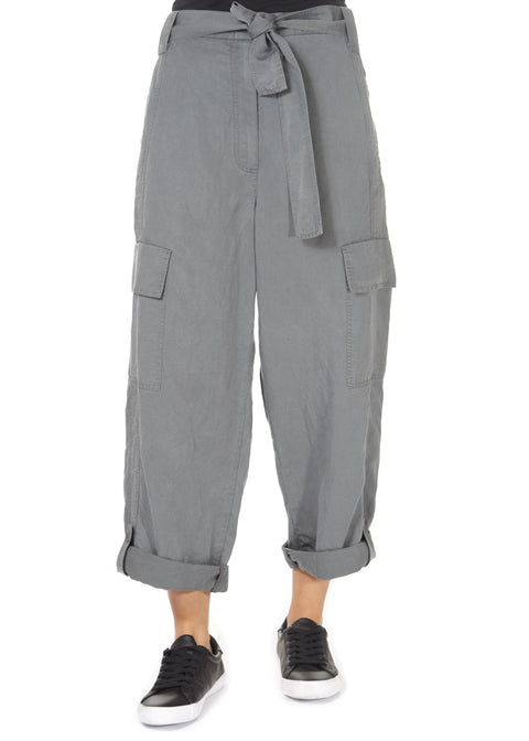 'Vana' Graphite Grey Cargo Pant | Jessimara London