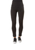 Black Magic Stretch Trousers With Zip