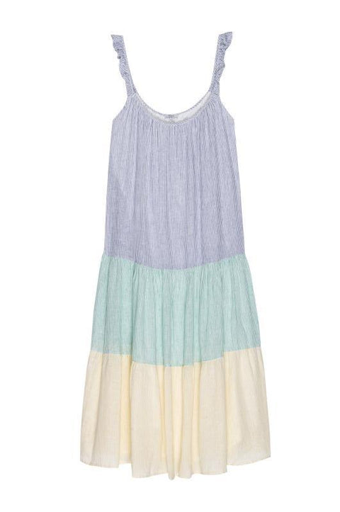 'Capri' Rainbow Midi Dress