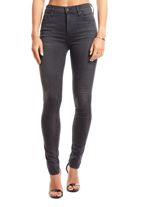 Rocket High Rise Skinny Black Dahlia Jeans | Jessimara London