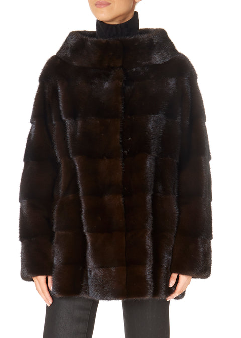 Brown Mink Jacket | Jessimara London