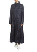 Navy Extra Long Coat Creenstone - Jessimara