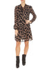 'Tallulah' Giraffe Print Bow Short Dress | Jessimara London