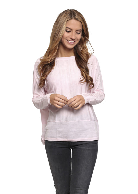 Jessimara Classic 'Delta' Light Pink Jumper | Jessimara London