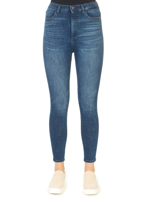 'Chrissy' Blue Skinny Ankle Tulsa Jeans | Jessimara London