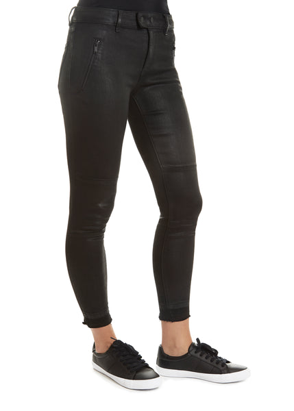 'Florence Tarty' Edgy Black Jeans
