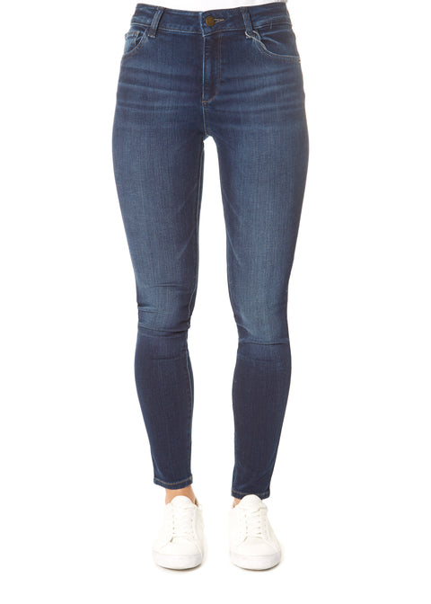 'Florence in Warner' Mid Rise Skinny Jeans | Jessimara London