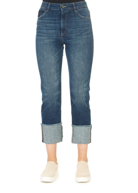 'Jerry' Kings Straight Blue Jeans | Jessimara London