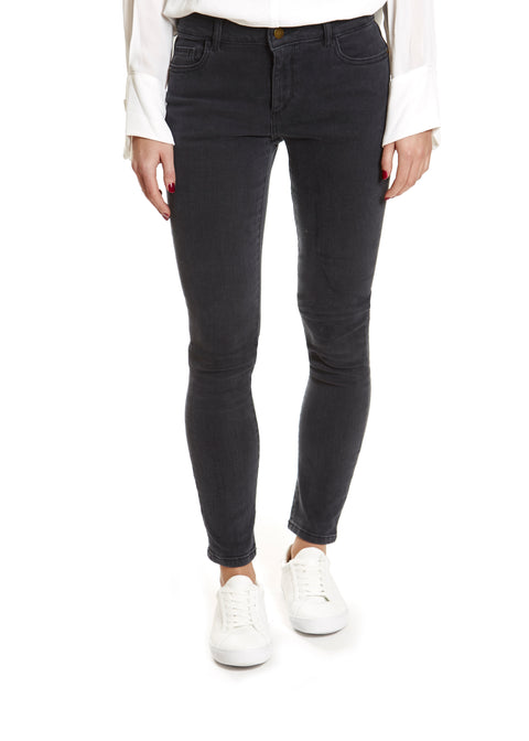 Deep Grey 'Florence' Skinny Jeans | Jessimara London