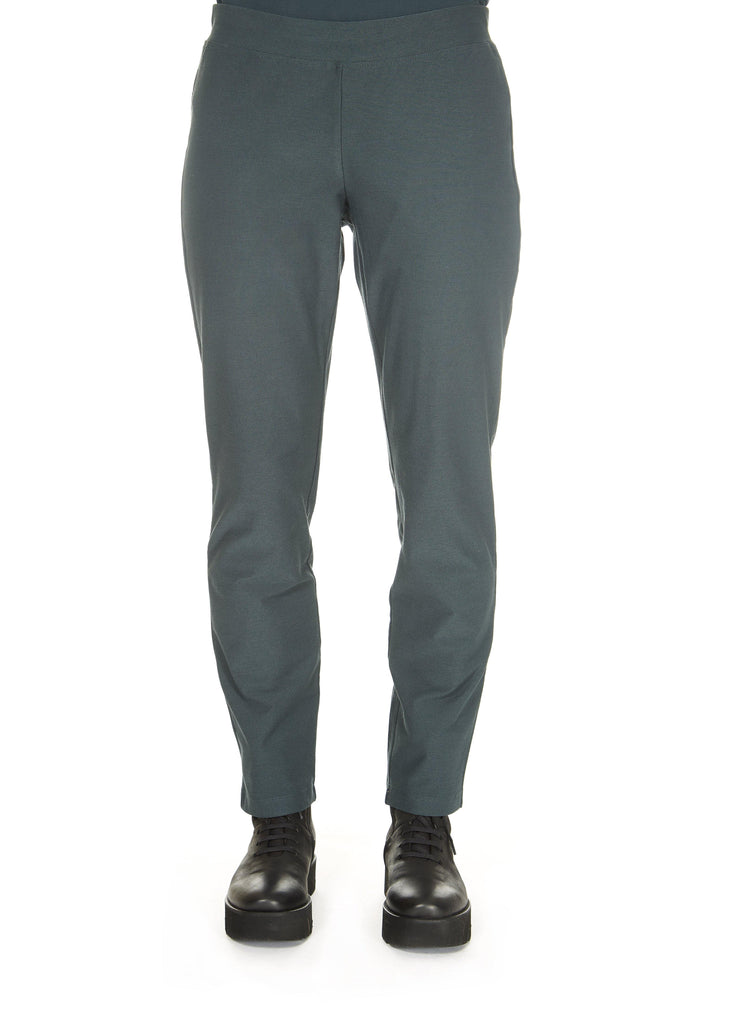 Forest Green Slim Leg Trouser