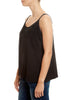 Black 'V-neck' Silk Tank Eileen Fisher - Jessimara