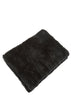 Real Rex Rabbit Fur Black Blanket Fur5eight - Jessimara