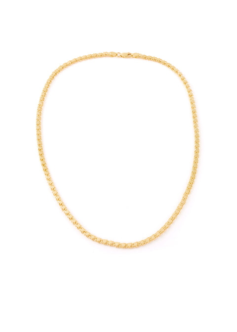 Gold Chunky Star Chain Necklace