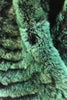 Green Snowtop Real Rex Rabbit Fur Single Snood Scarf