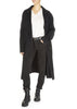 'Melissandre' Black Duster Coat