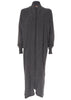 Jess Dark Grey Wool Long Cardigan