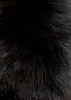 Black Genuine Fox Fur Collar | Jessimara London